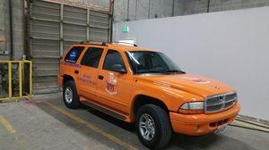 Fire Restoration Vehicle