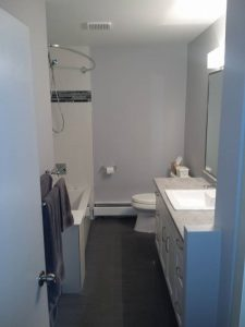 Water Damage Restoration Completed For Luxurious Bathroom