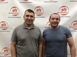 Owners of 911 Restoration of Santa Clarita Mike and Arman